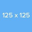 125×125